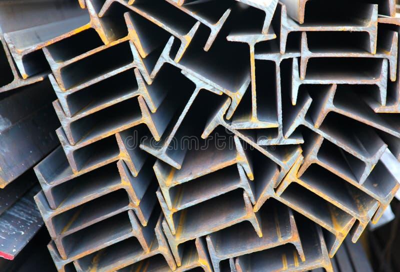 Haz del perfil del metal fotografía de archivo