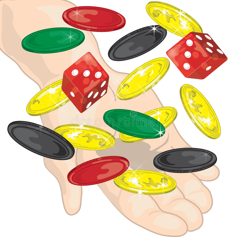 hazard ilustracja wektor