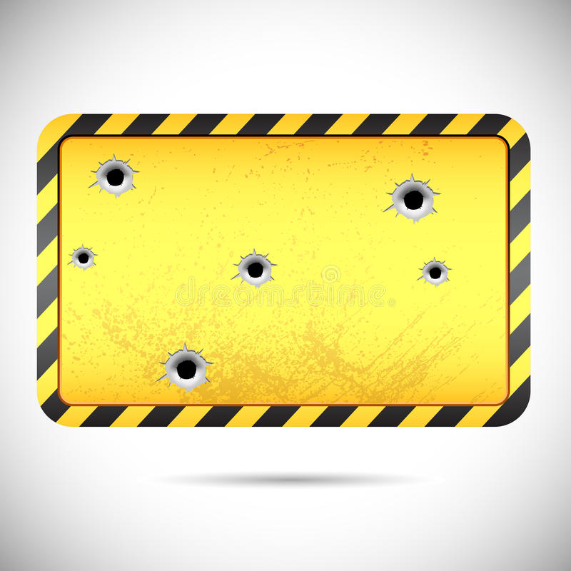 Download Hazard Board stock illustration. Image of iron, industrial - 24269104