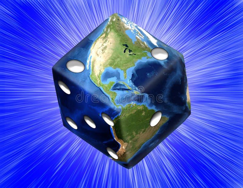 hazard globalne royalty ilustracja