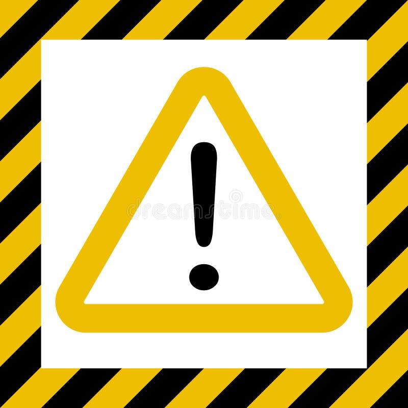 Hazard Symbol Sign Exclamation Mark Warn Caution Construction