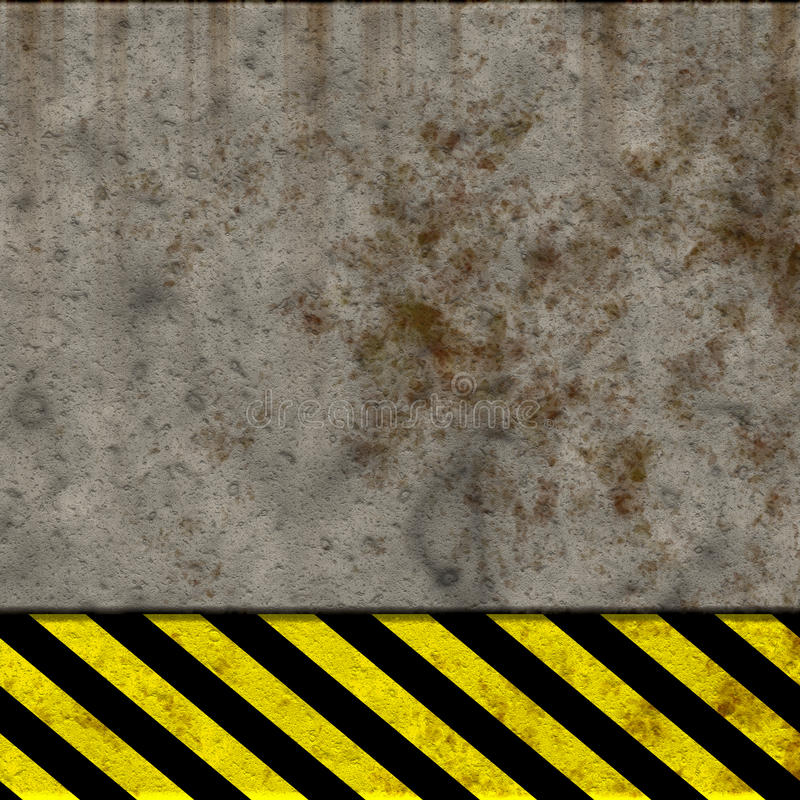 Download Hazard wall stock illustration. Image of dirty, obsolete - 12763365