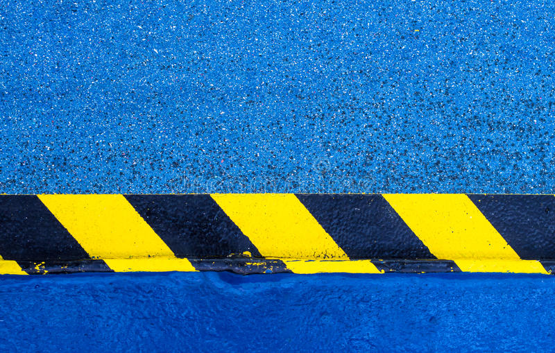 Download Hazard Warning Paint On Floor Stock Image - Image of industrial, industry: 34453531