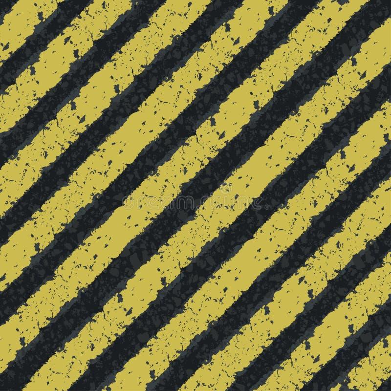 Download Hazard yellow lines stock vector. Illustration of grunge - 25987747