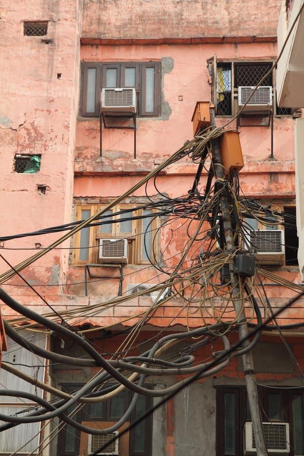Download Hazardous wiring stock image. Image of urban, wire, hazard - 19083023