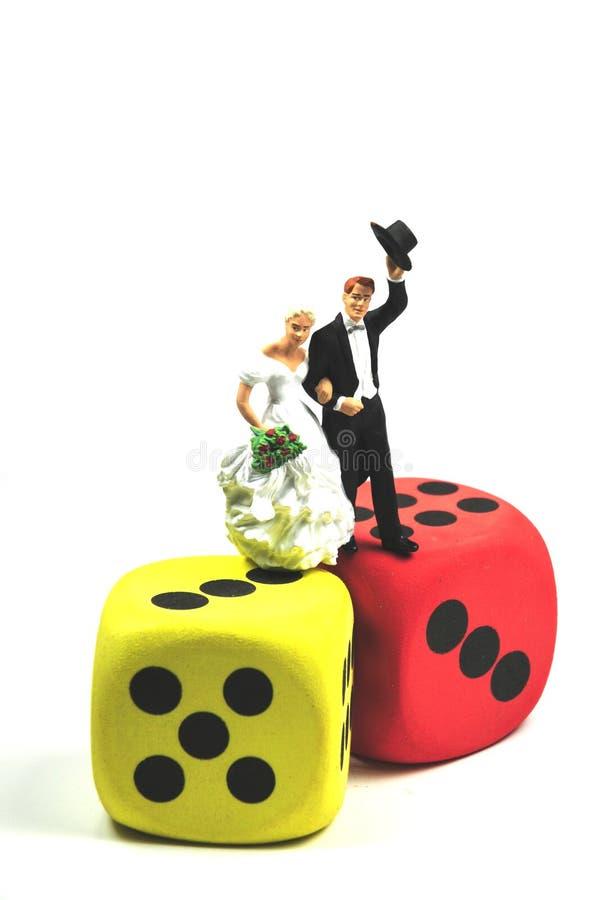 hazardu mariage zdjęcia royalty free