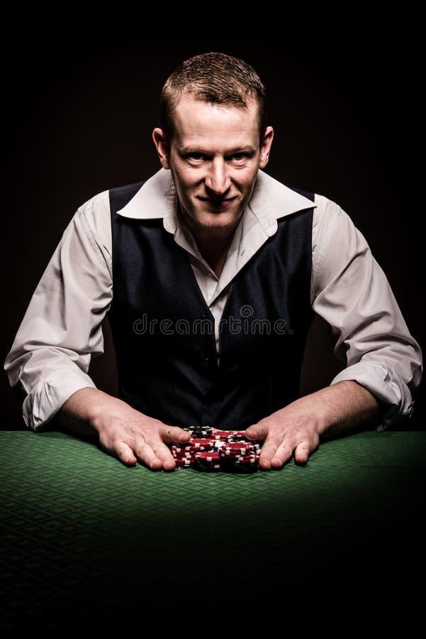 Hazardzista iść w zdjęcia stock