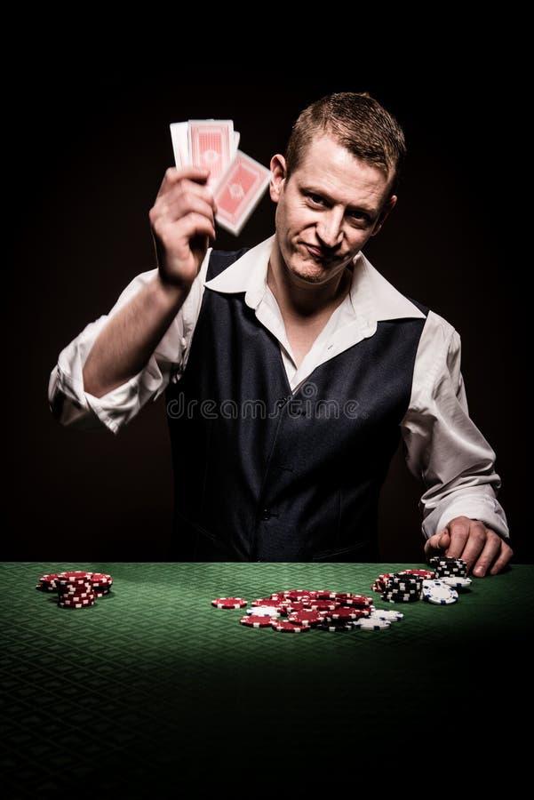 Hazardzista udaremnia obraz stock