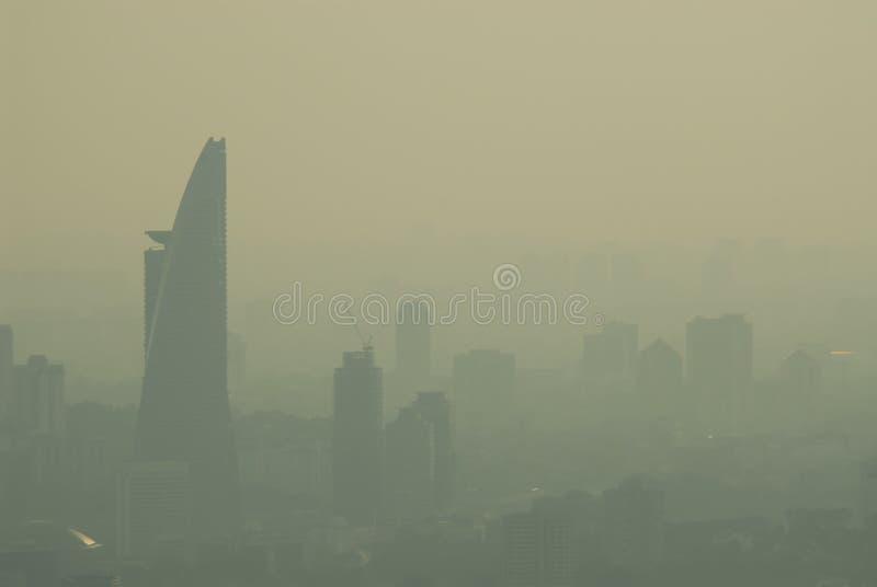 haze miasta obraz royalty free