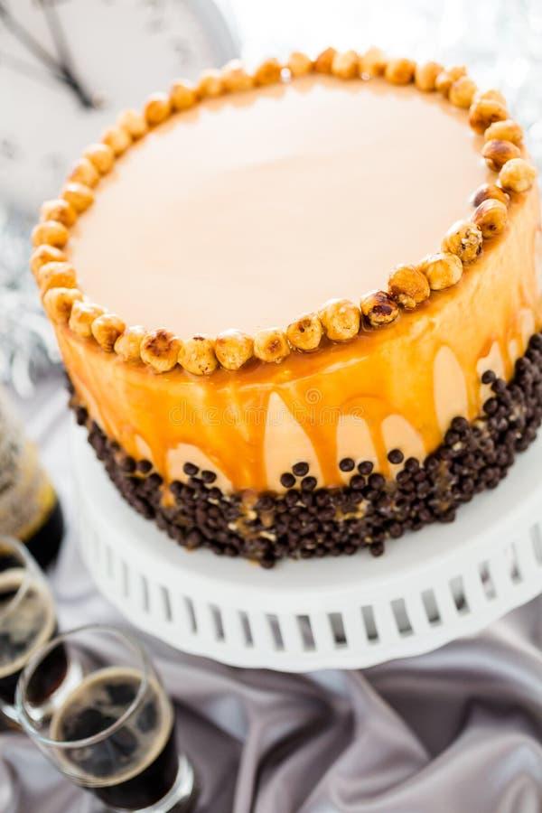 Hazelnoot Torte stock afbeelding