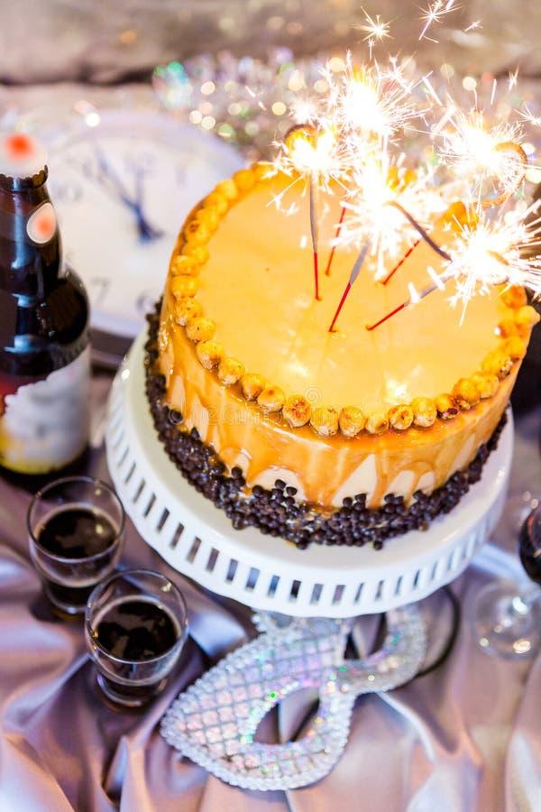 Hazelnoot Torte stock fotografie