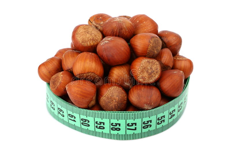 Download Hazelnut and meter stock image. Image of length, isolated - 29838685