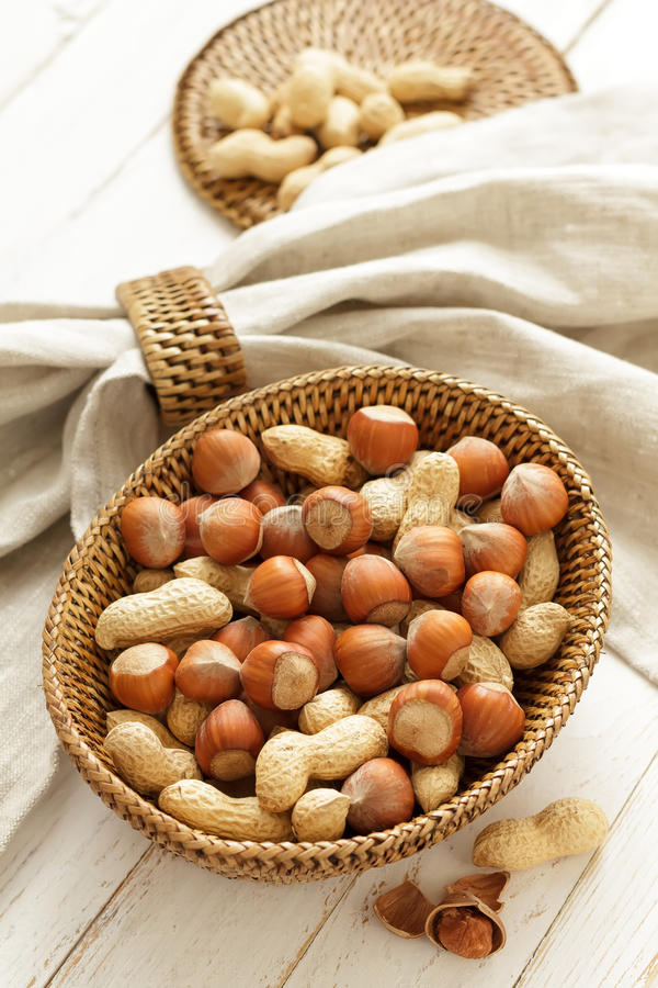 Download Hazelnut and peanut stock image. Image of natural, many - 29549313
