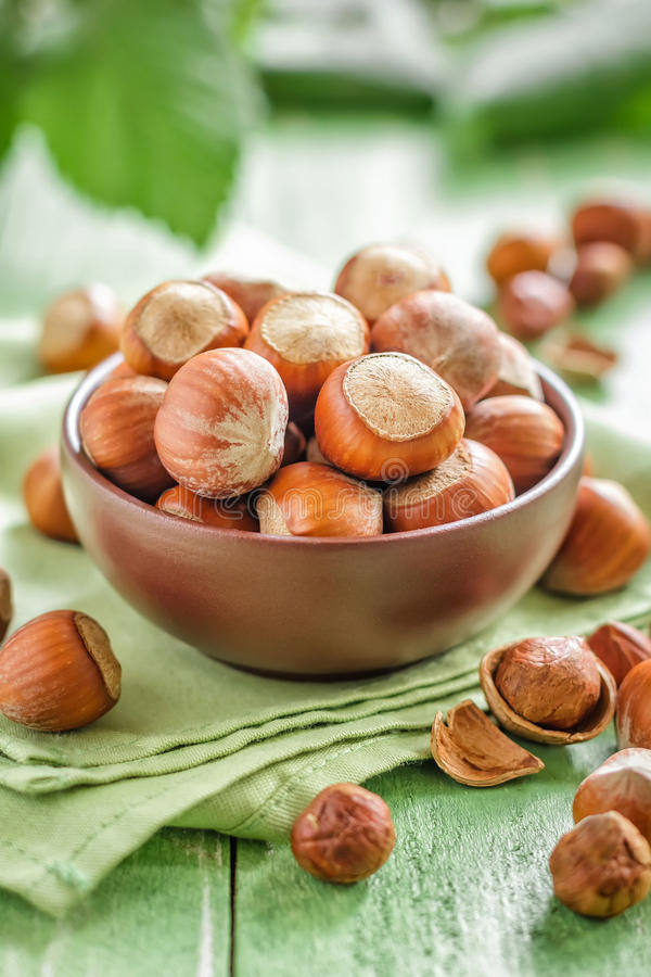 Download Hazelnuts Royalty Free Stock Photography - Image: 33487947