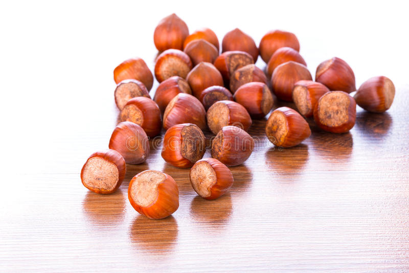 Download Hazelnuts stock image. Image of food, group, healthy - 33868981
