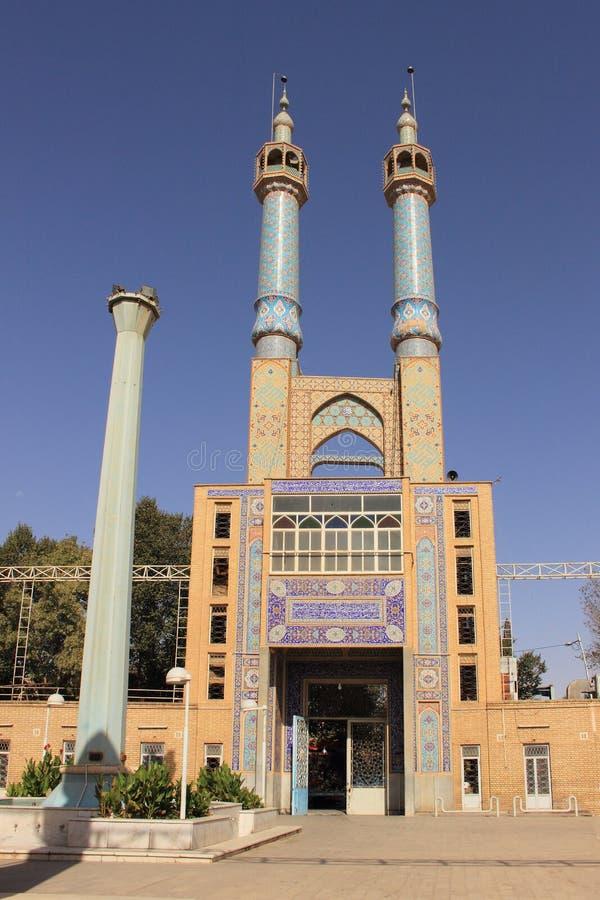 Hazireh-Moschee in Yazd-Stadt (der Iran) lizenzfreie stockfotografie