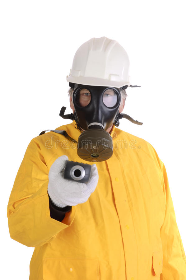 Free Hazmat Worker Royalty Free Stock Photos - 18928718