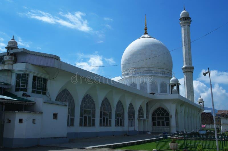 Hazratbal świątynia przy Srinagar-2 obrazy stock