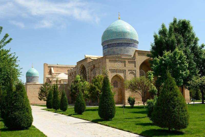 Hazrati Imam Complex Tashkent, Uzbekistan royaltyfria foton