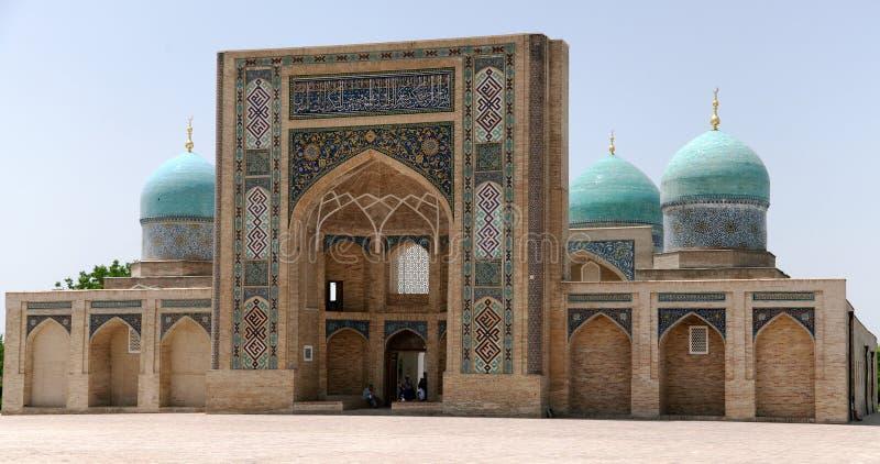Hazrati imama kompleks - religijny centrum Tashkent obrazy royalty free