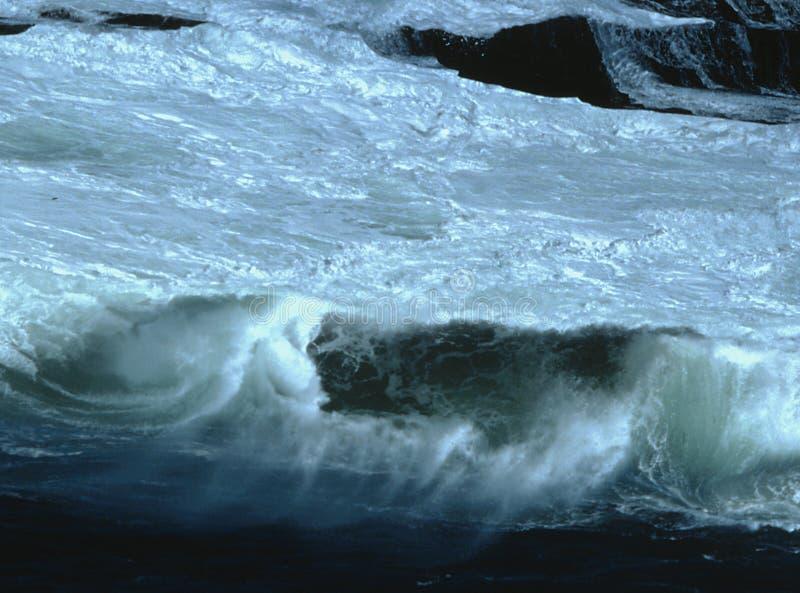 Download Hazy Wave stock image. Image of gale, shore, roar, rock - 174125