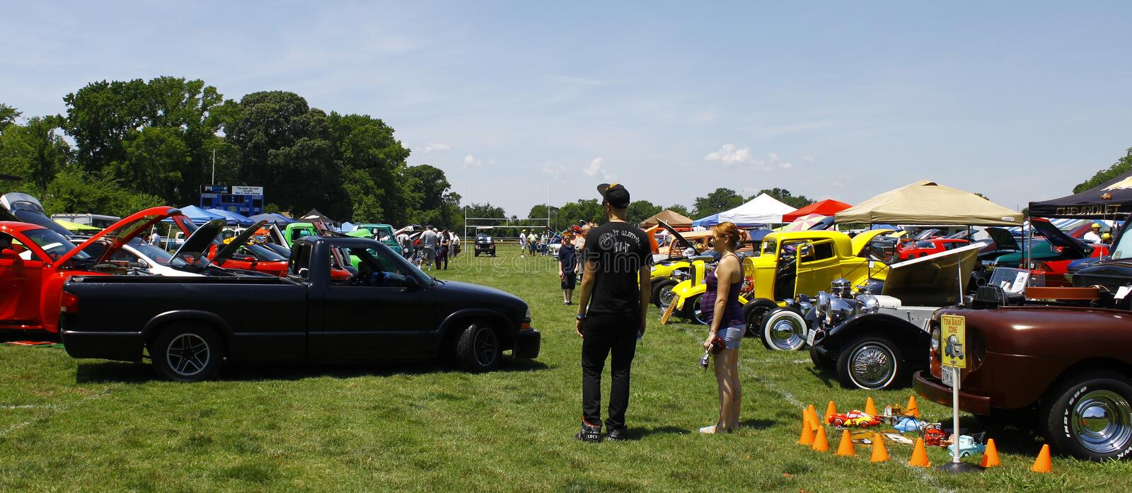 HCS Car Show stock photo