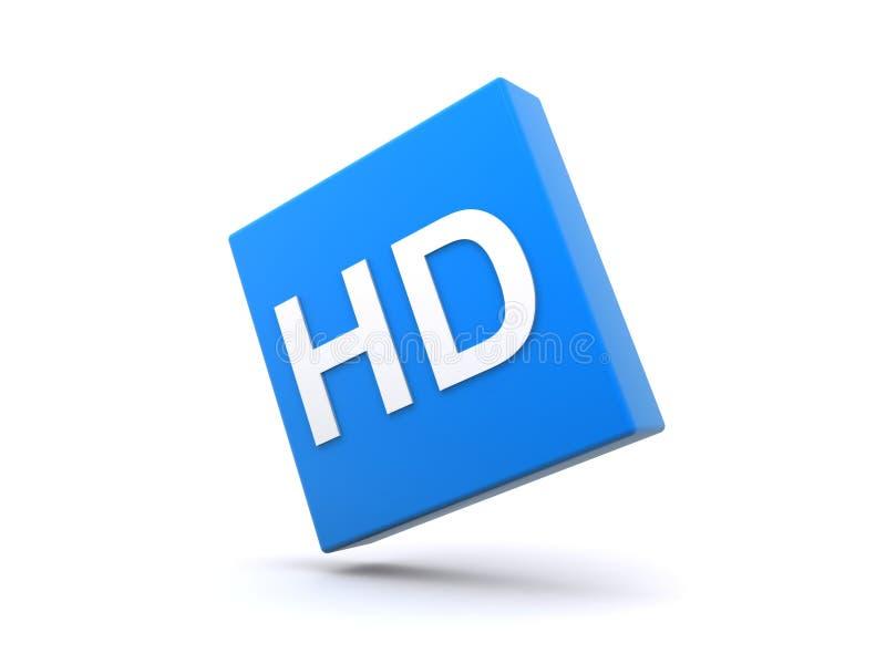 HD符号 向量例证