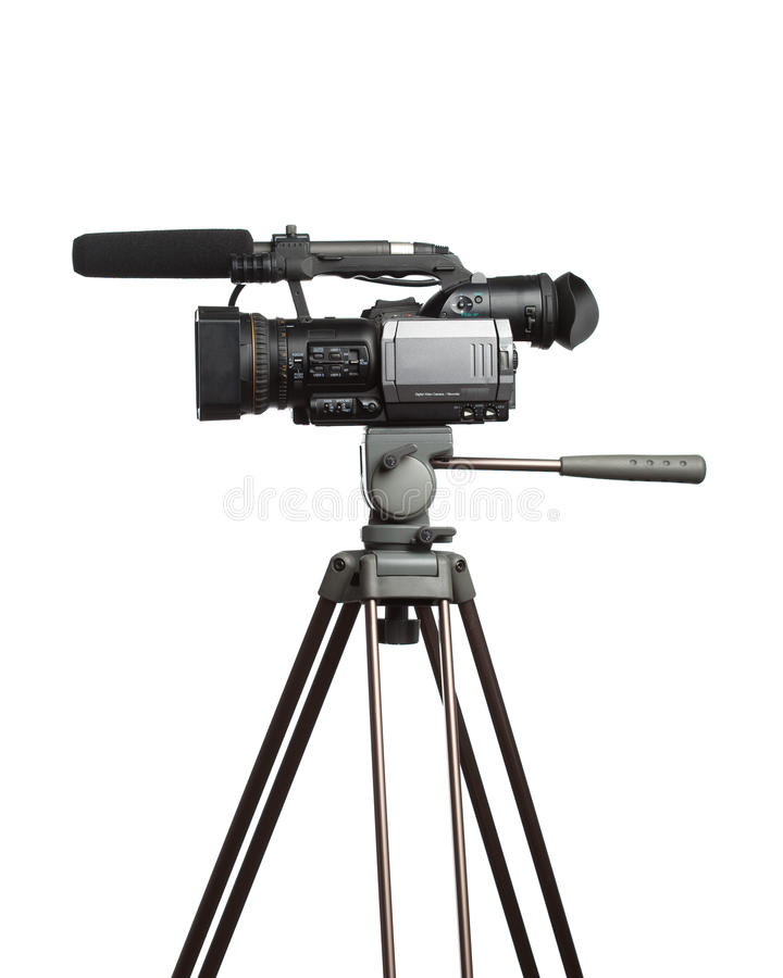 HD camcorder royalty free stock photography