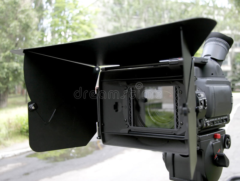 Hd camcorder royalty-vrije stock foto