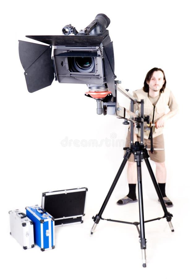 hd de grue de caméscope image libre de droits