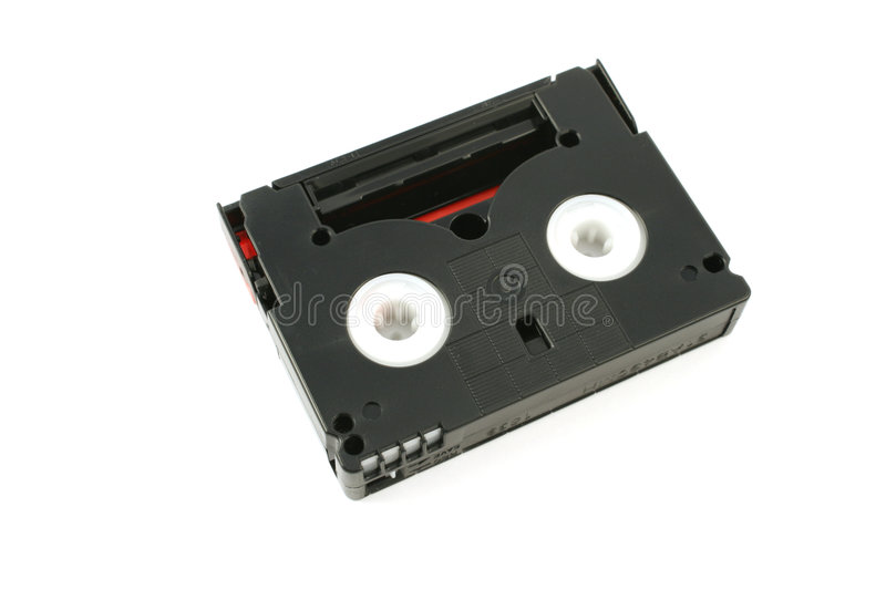 Hd digitale Kamerarecorderkassette stockbilder