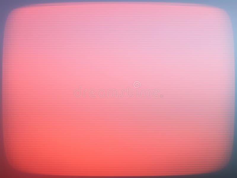 Hd entrelaçado avermelhado do fundo da textura da tela da tevê imagens de stock