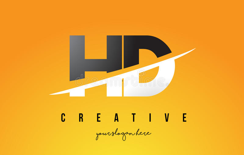 Hd h d letter modern logo design with yellow background and swoo download hd h d letter modern logo design with yellow background and swoo stock vector illustration thecheapjerseys Gallery