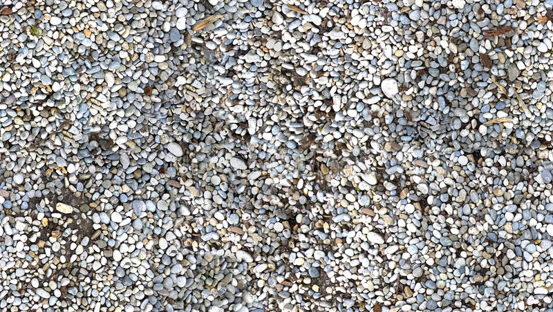 HD seamless pebbles ground texture royalty free stock photo