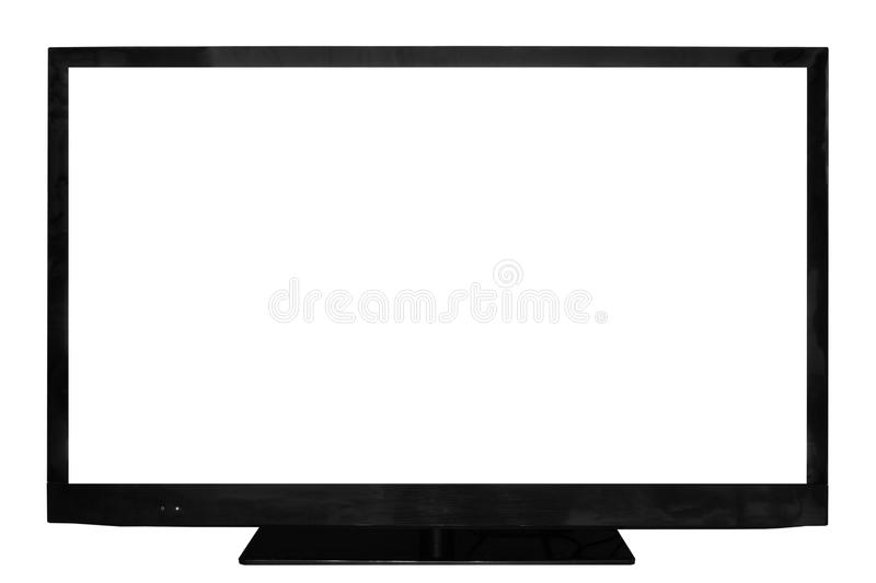 Download HD television stock image. Image of computer, isolated - 27319095