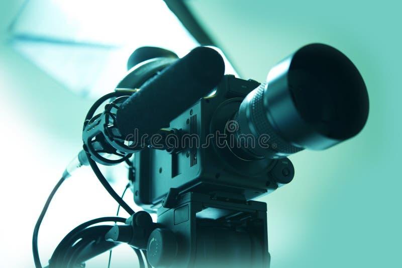 HD-videokamera royaltyfria bilder