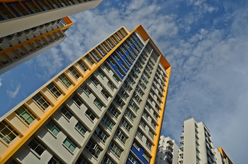 HDB επίπεδη Σιγκαπούρη στοκ εικόνα με δικαίωμα ελεύθερης χρήσης