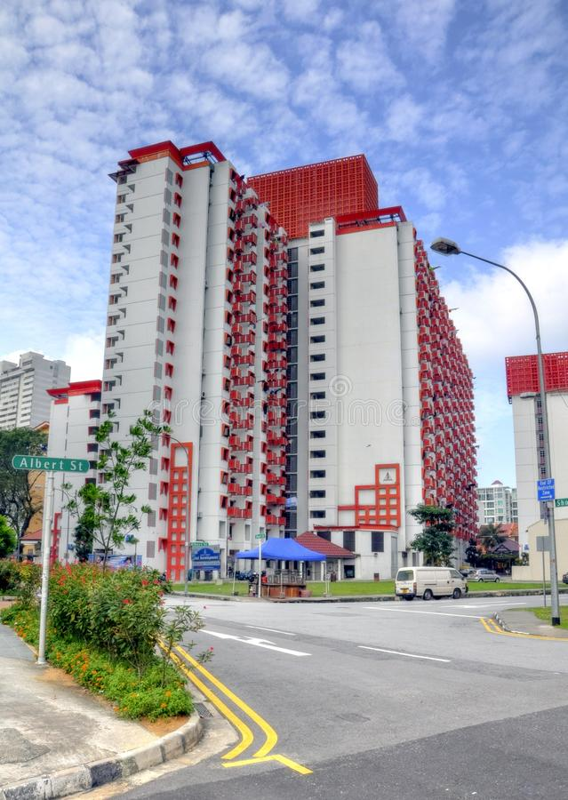 Download HDB Housing Unit editorial stock image. Image of highrise - 16307044