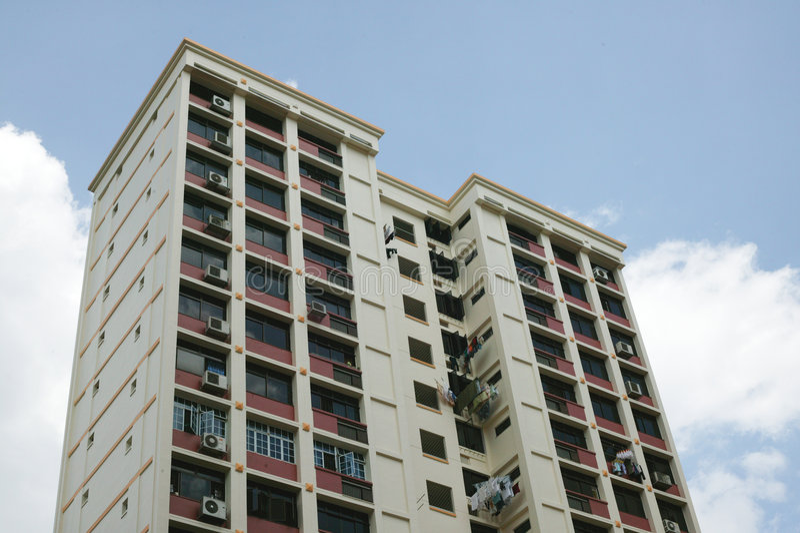 HDB Singapore immagini stock