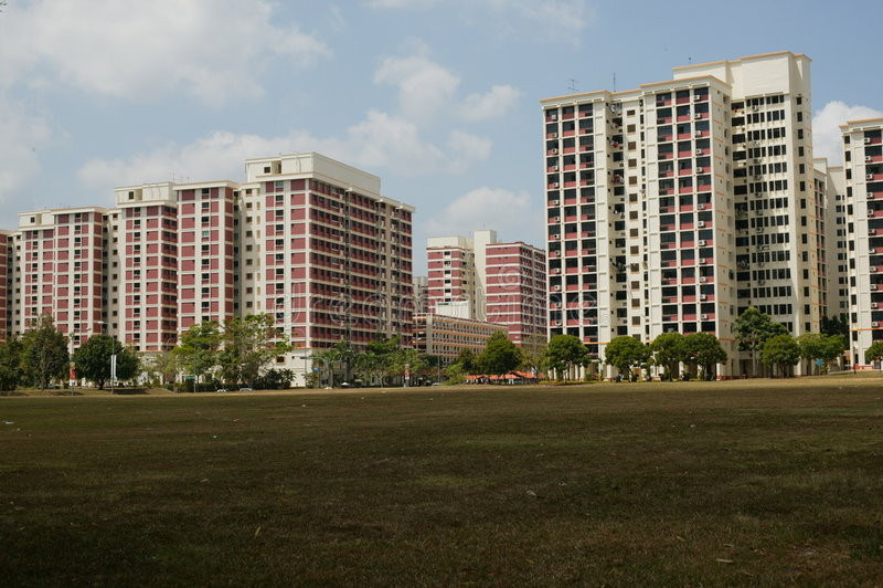 HDB Singapour photographie stock