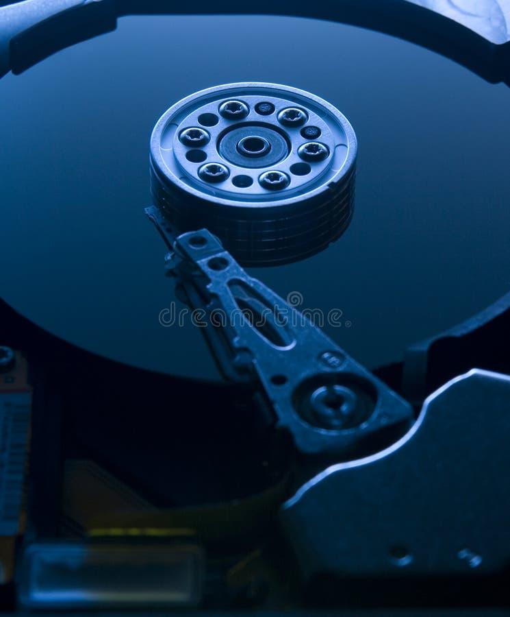 HDD azul imagens de stock