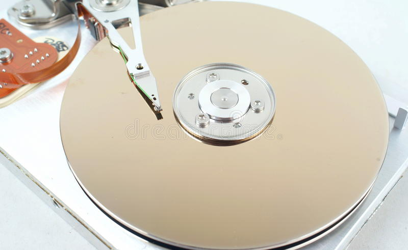 Hdd background stock image