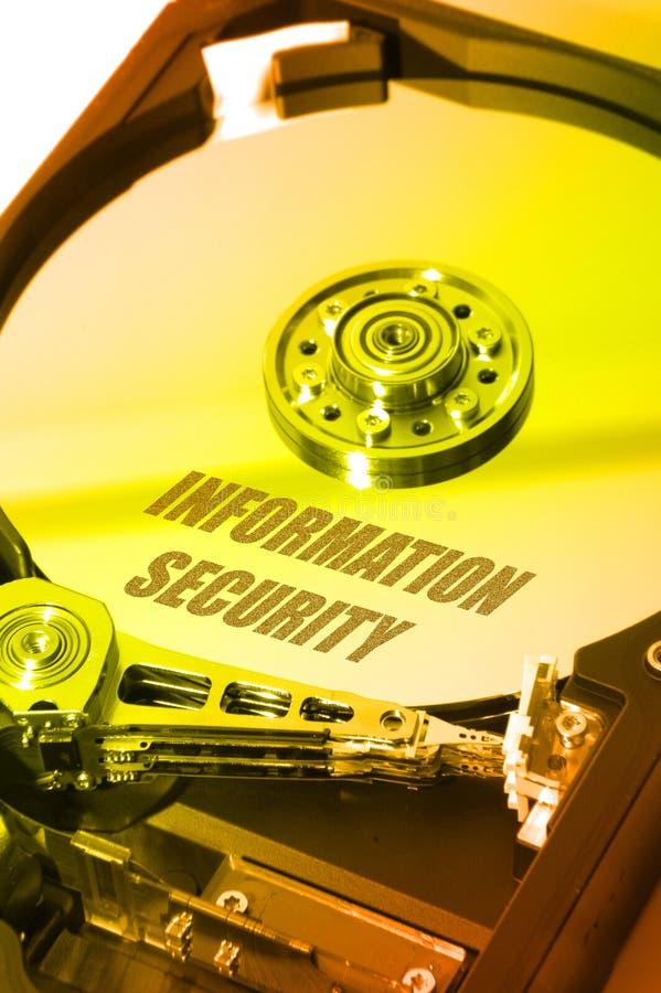 HDD Info-Sicherheit lizenzfreies stockbild