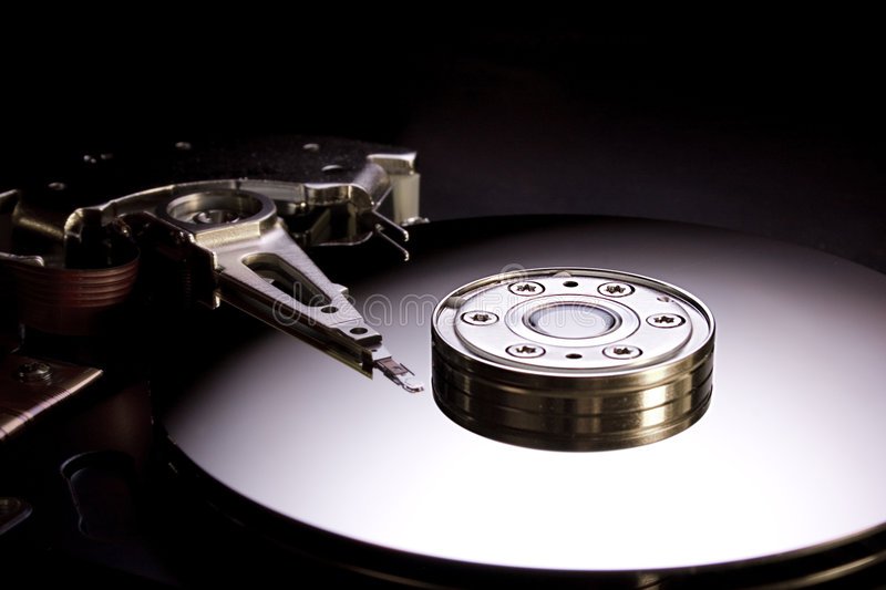 Hdd inside 4 stock photos
