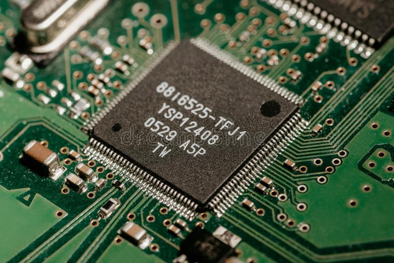 HDD kontroler obraz stock