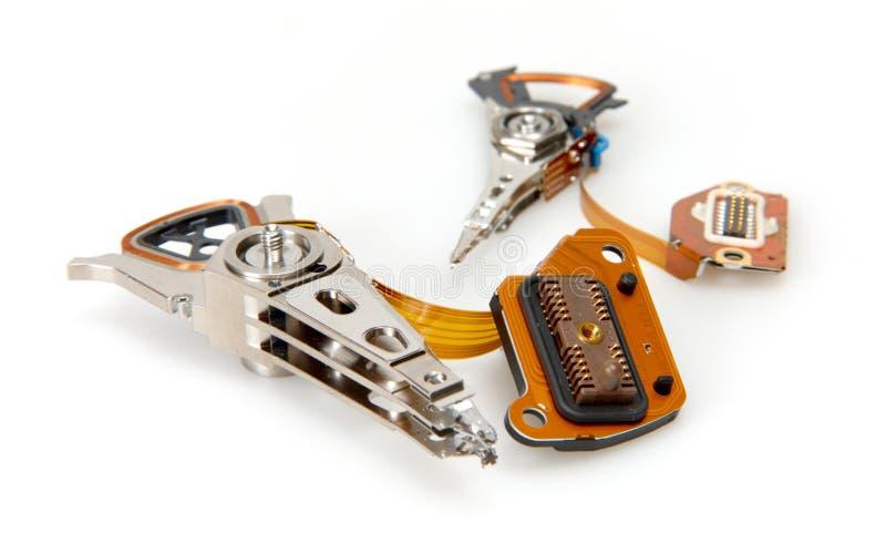 HDD Teile lizenzfreies stockbild