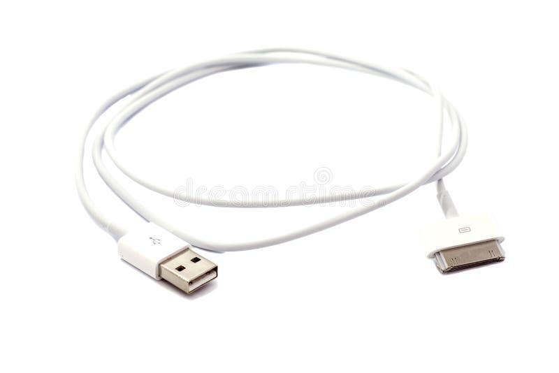 HDMI-kvinnlig till mikroUSB man- och kvinnligadapterkabel royaltyfri bild