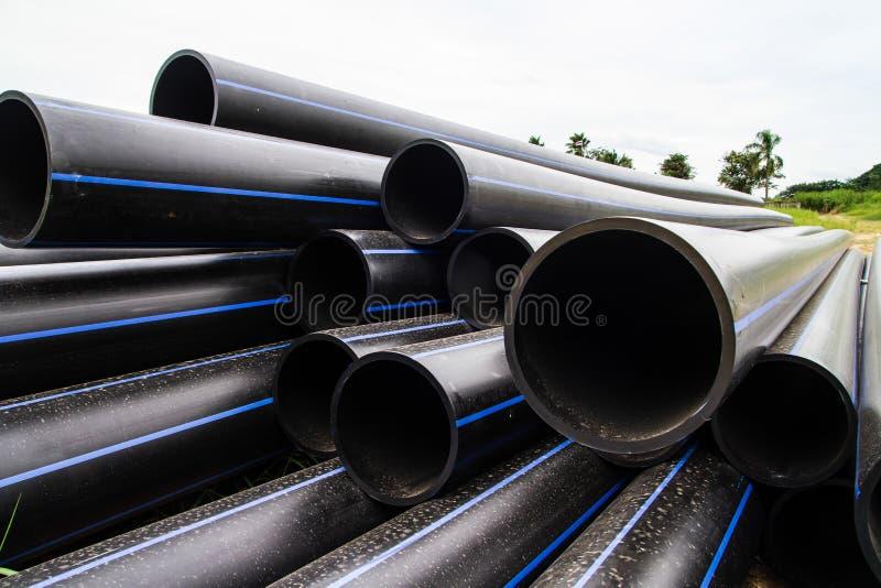 HDPE σωλήνας για την παροχή νερού στοκ φωτογραφίες με δικαίωμα ελεύθερης χρήσης