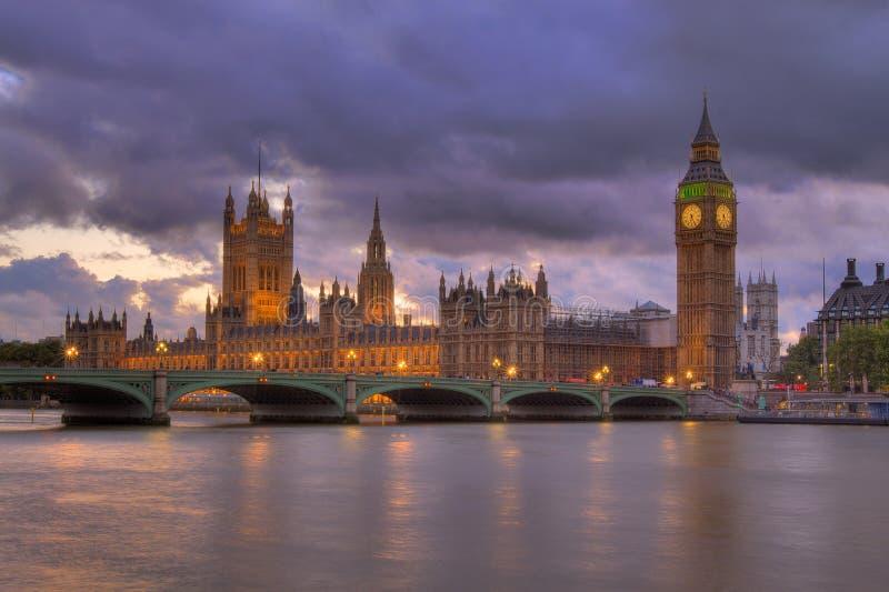 hdr το Κοινοβούλιο νύχτας &sigm στοκ φωτογραφία με δικαίωμα ελεύθερης χρήσης
