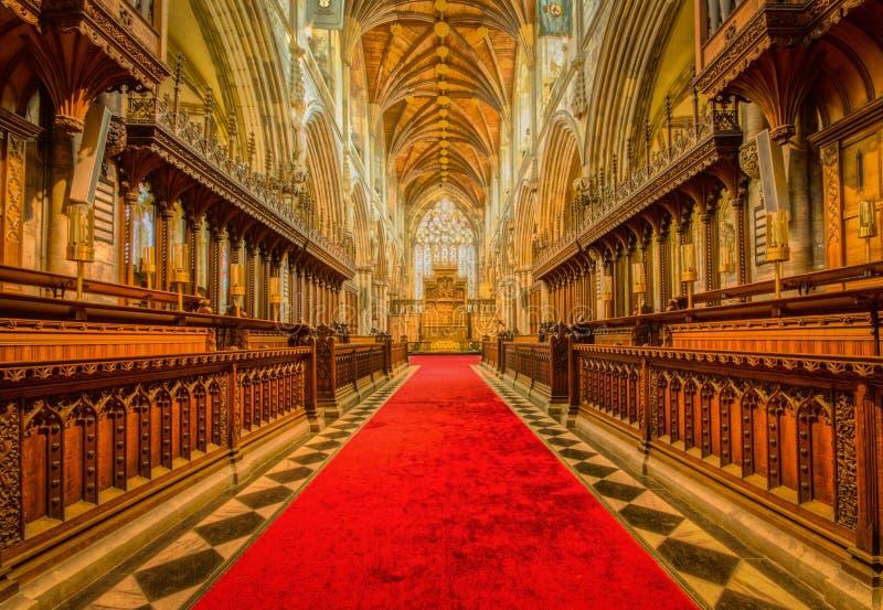 Selby Abbey arkivbild